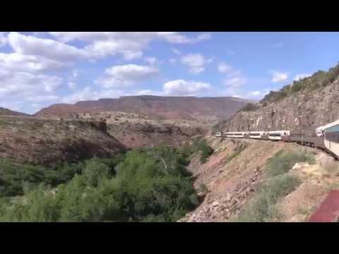 Scenic Train Ride Through Arizona's Verde Canyon