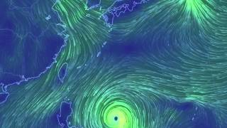 台風20号進路予想1030~1104