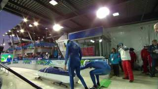 Two-Man Bobsleigh - Run 1 and 2 - Complete Event - Vancouver 2010 Winter Olympic Games