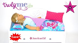 NEW Trundle Bed and Bedding ~ American Girl Doll ~Truly Me
