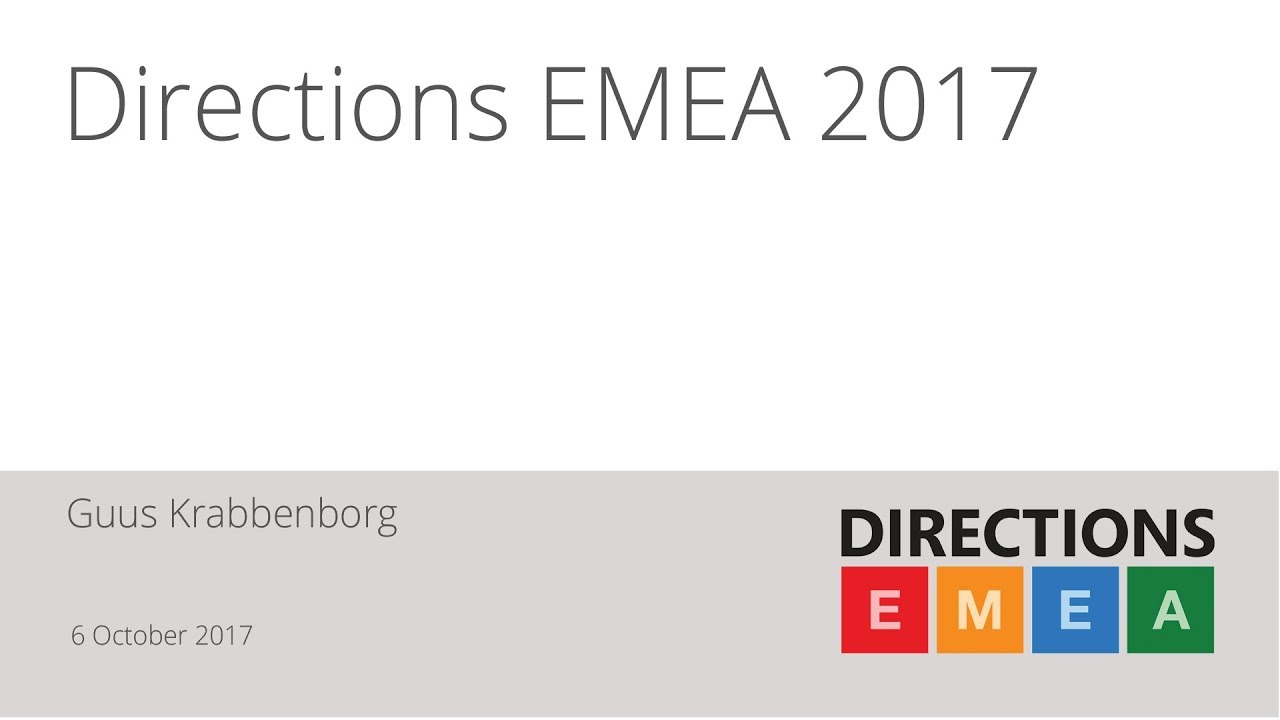 qbs group directions emea 2017 a resume overview by michael