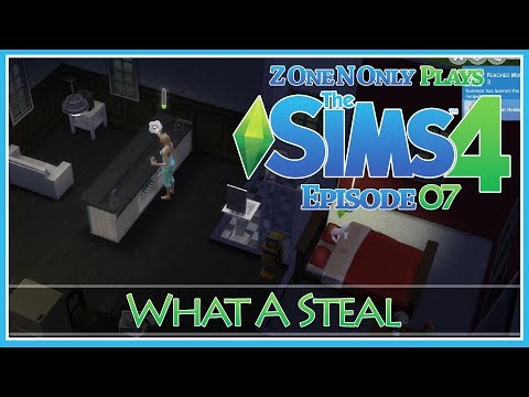 What A Steal :: Sims 4 :: E7 :: Z One N Only Plays