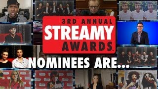 Streamys Nomination Announcement - 3rd Annual Streamy Awards