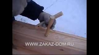 Строительстово домов из бруса, сборка сруба на деревянных нагелях(Купить загородный дом из профилированного бруса или построить брусовую баню под ключ от СК Заказ-Дом Вы..., 2013-06-04T11:10:18.000Z)