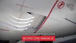 BEZPIECZNE WAKACJE | Czyste powietrze w samolocie | ITAKA