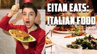 Eating Italian Food In NYC | Chef Eitan Bernath
