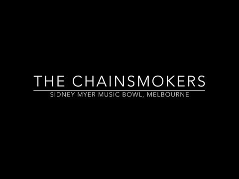 The Chainsmokers in Melbourne, Australia (20 October 2017)