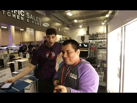Ice Poseidon and Andy go to Best Buy [VOD: 22-03-2017]
