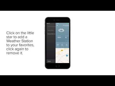 Netatmo Weather App - Overview