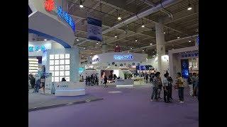 Avant-garde technologies at international software trade fair in Dalian, China
