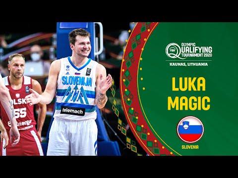 Luka's Double-Double   Doncic vs. Poland   FIBA OQT 2020
