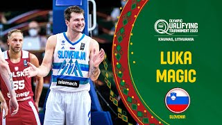 Luka's Double-Double | Doncic vs. Poland | FIBA OQT 2020