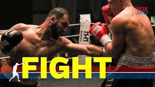 Armenak Hovhannisyan vs Yevgenii Makhteienko - 8 rounds light heavyweight - 08.12.2018 - Hameln