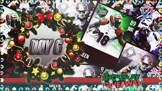 DAY 6 of HOLISLAY GIVEAWAY! Biggest Madden Mobile Giveaway of the YEAR!