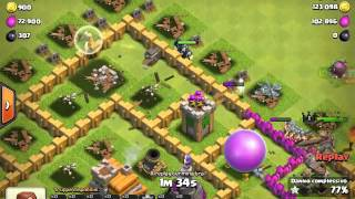 Clash of clans 100% th7 - alan walker : fade