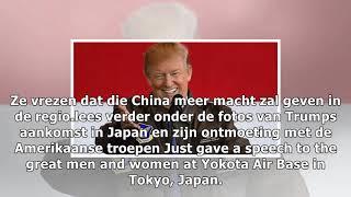 Trump in japan: politiek, golf en ontmoeting met het brein achter 'pen pineapple apple pen'