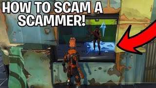 How To Scam A Scammer! (Scammer Gets Scammed) Fortnite Save The World