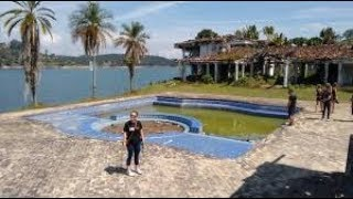 Pablo Escobar Abandoned $10,000,000 Mansion  (Secret island Tour )