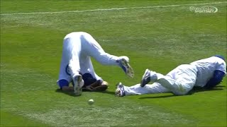 MLB Outfield Collisions