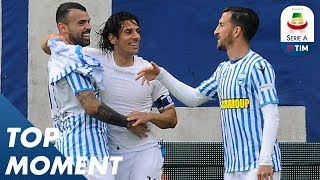 Floccari sinks Juve with second goal for Spal! | Spal 2-1 Juventus | Top Moment |  Serie A