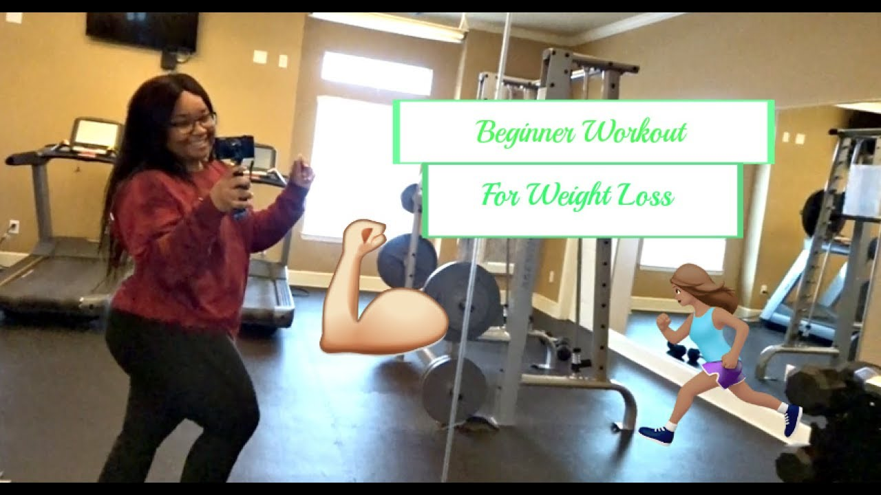 Workout routine weight loss beginners