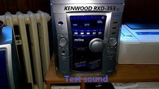 Kenwood rxd-353- test sound 2 (1080p 60fps) 🎥