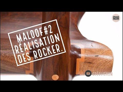 SAM MALOOF#2 Réalisation des rocker du Rocking Chair