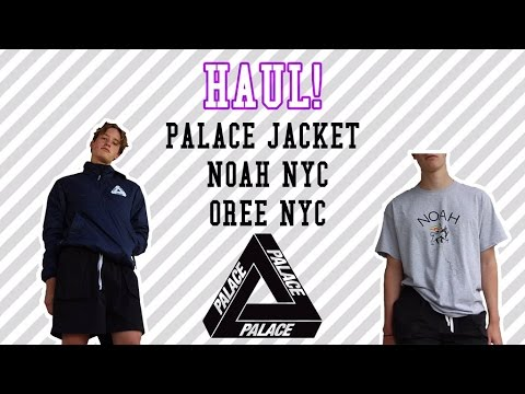 Haul! (Palace Jacket, NOAH Nyc, OreeNyc)