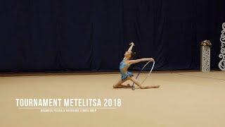 Храмова Полина Н.Новгород (2005) Обруч Rhythmic Gymnastics Tournament Metelitsa 2018