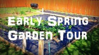 Early April Spring Garden Tour: The Garden is Full