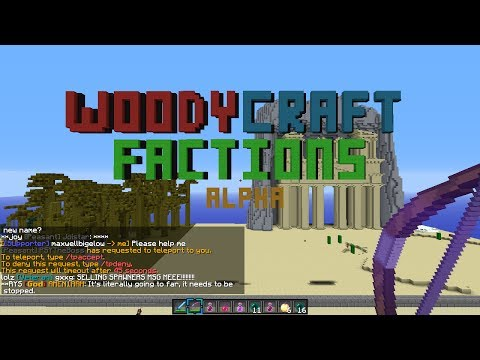 Minecraft - This time we actually raid!!! WoodyCraft.net