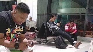 Waiting Garuda Indonesia