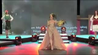 Michelle Gumabao full performance in Miss Globe 2018