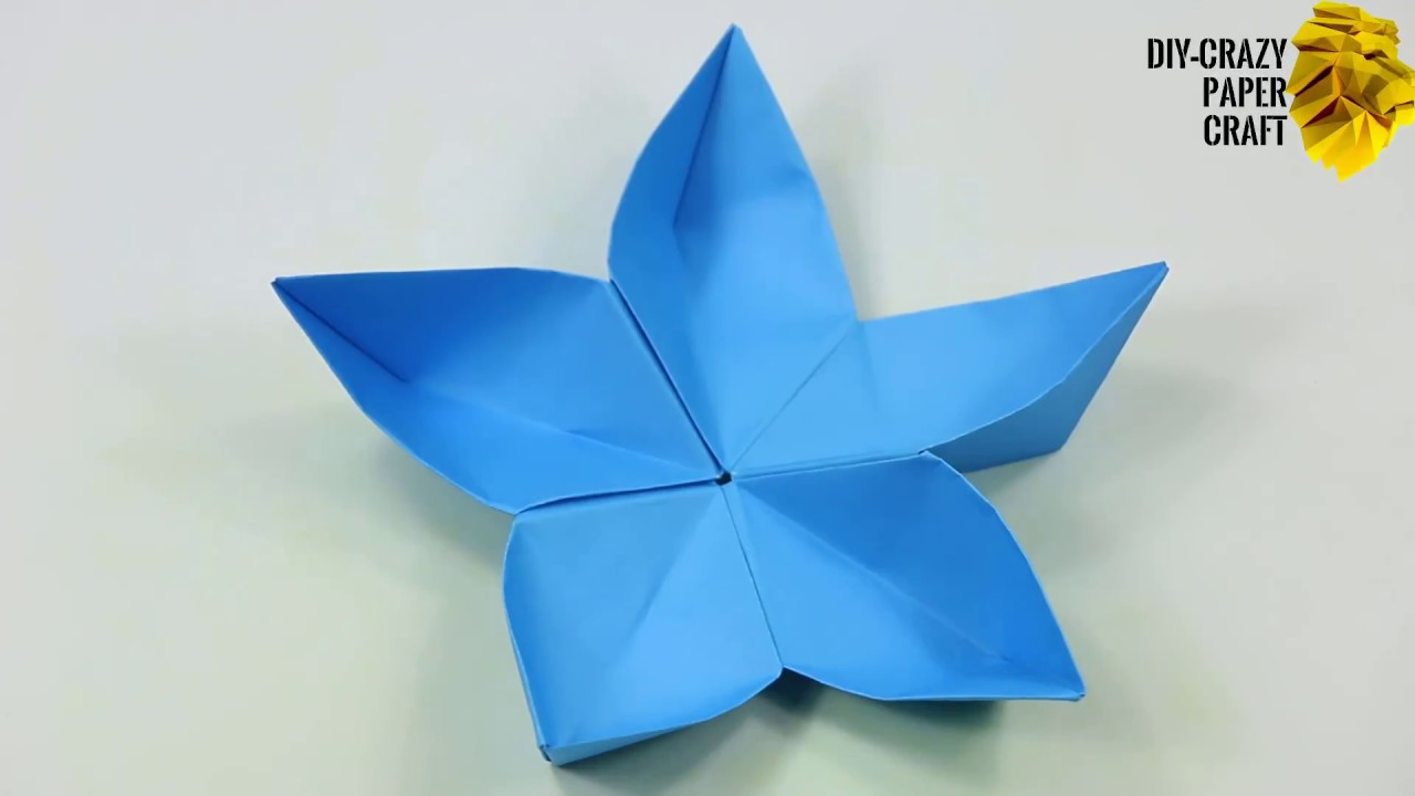 How to make a paper flower origami easy easy origami flowers how to make a paper flower origami easy easy origami flowers video tutorial for beginners making mightylinksfo