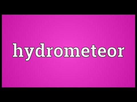 Header of hydrometeor