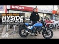 Bike Shed Visits: Hyside Motorcycles - Vikki gets a custom exhaust remap
