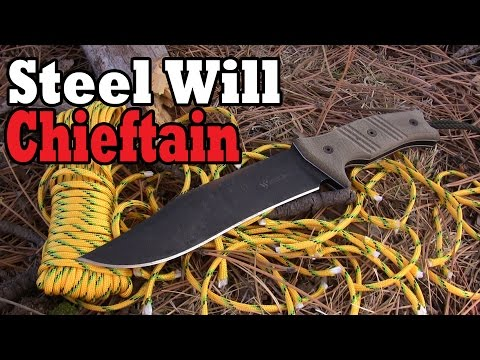 Steel Will Knives Chieftain Review: A Modern Bowie
