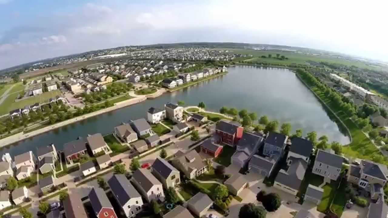 New Town at St. Charles from the Air - YouTube