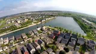 New Town at St. Charles from the Air