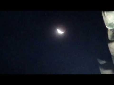 Full VIdeo Detik-detik saat terjadi gerhana bulan total 4 april 2015 dari solo