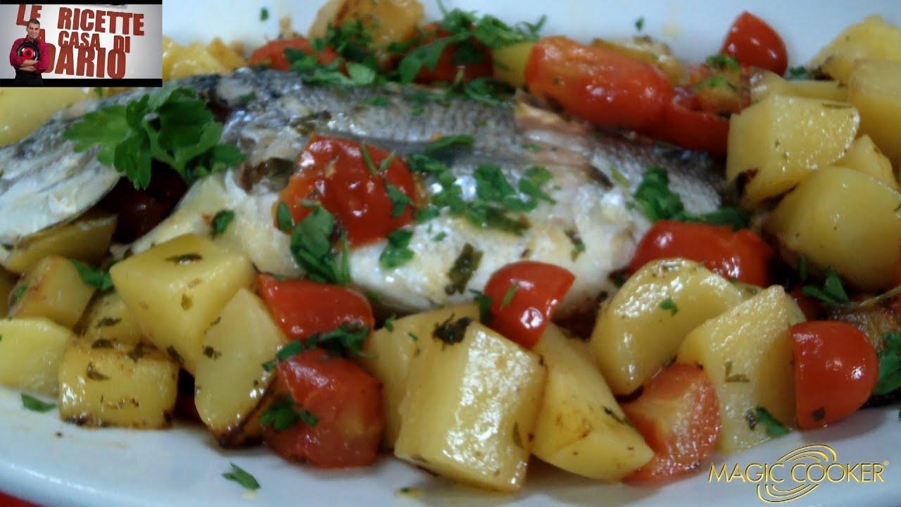 Le Orate Con Patate E Pomodorini Preparate Da Dario Con Magic Cooker 283