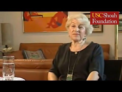 Holocaust Survivor Liesl Loeb Testimony
