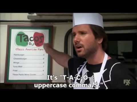 The League - Taco's truck