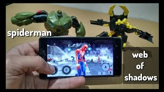 PS3 SPIDERMAN WEB OF SHADOWS DOLPHIN EMULATOR TEST ANDROID