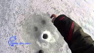 Отчет о рыбалке на льду  в конце февраля 2016