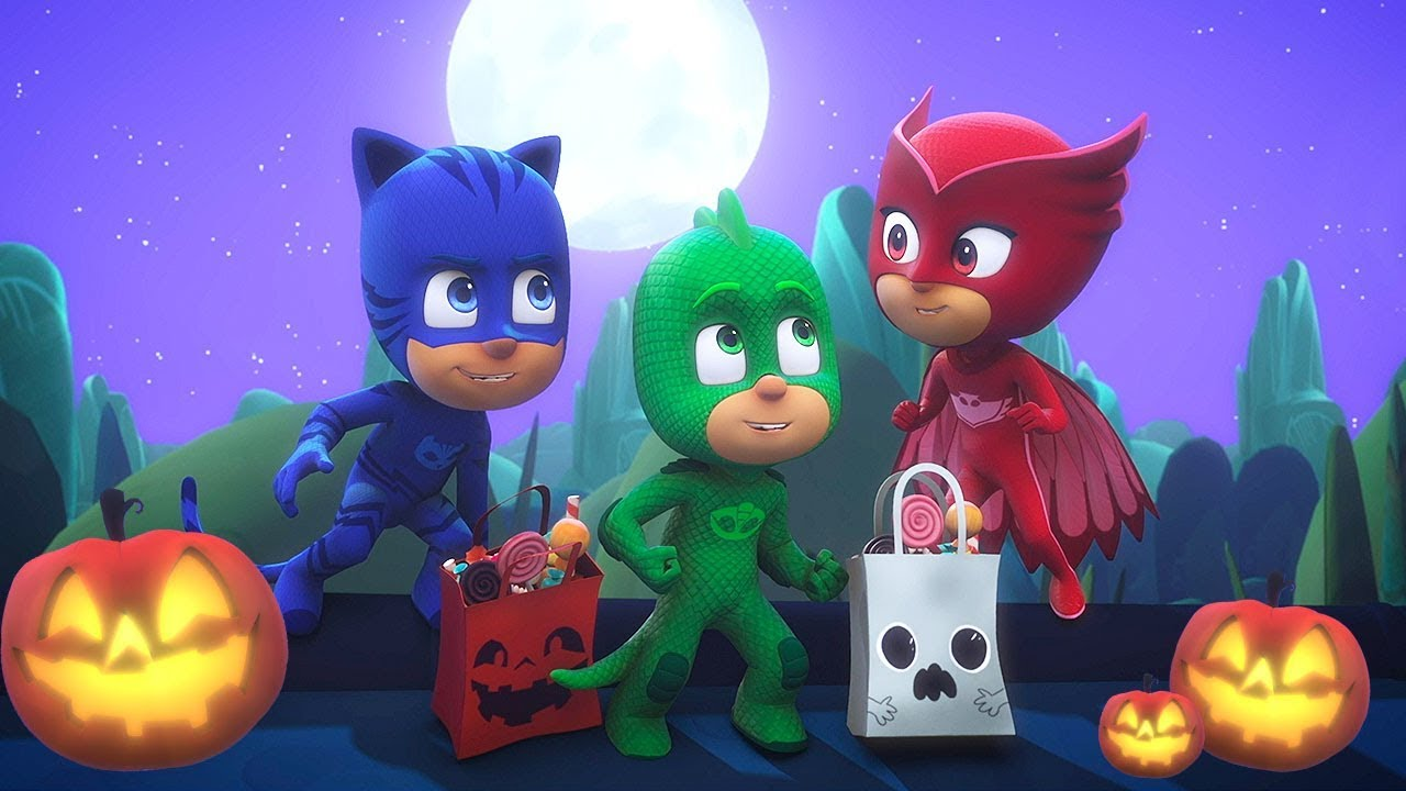 PJ Masks Episode | CLIPS | Halloween Tricksters | ????????Happy Halloween ????????Cartoons for Kids