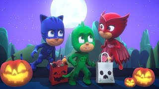 PJ Masks Episode | CLIPS | Halloween Tricksters | 🎃🦇Happy Halloween 🦇🎃Cartoons for Kids