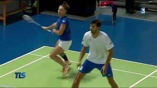 Un double mixte tricolore à l'assaut des Mondiaux de badminton