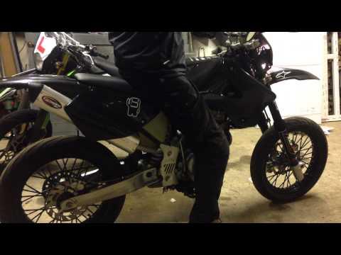AJP pr4 125cc supermoto custom