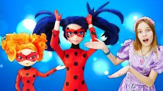 Новое видео для детей: кукла Сказочный Патруль вкостюме куклы Леди Баг! Крутые одевалки!